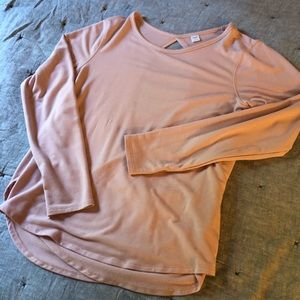 Criss-across back sweater